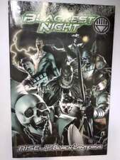 Blackest Night Rise of the Black Lanterns DC Comics Graphic Novel