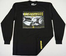 STREETWISE NEIGHBORHOOD WATCH Long Sleeve T-shirt Men  Black Tee New