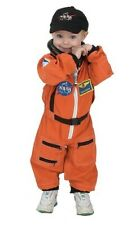 Aeromax Jr Astronaut Suit With Embroidered Cap Costume Orange 4 to 6 Halloween