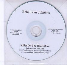 (DV238) Rebellious Jukebox, Killer On The Dancefloor - 2012 DJ CD