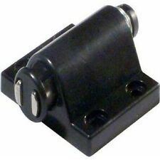 10 BLACK PRESSURE CATCH DOOR TOUCH MAGNETIC CATCH KITCHEN CABINET UNIT SCREW INC