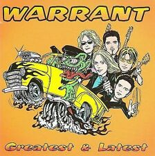 Greatest and Latest by Warrant CD Cherry Pie Hollywood Down Boys Sunset Strip