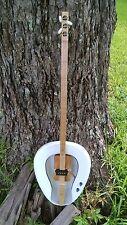 BED PAN strum stick, dulcimer, cigar box guitar,guitar