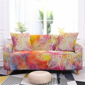 Elastic Sofa Cover Stretch Couch 2 3 4 Seater Furniture Slip Covers Recliner Pet
