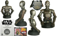 Gentle Giant Star Wars C-3PO Attack of Clones Collectable Mini Bust LE# 66/2500