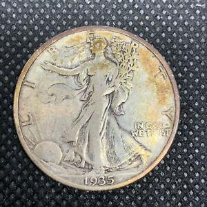 USA Half Dollar 1935 S Silver Coin