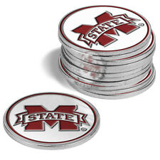 Mississippi State Bulldogs 12 Pack Golf Ball Markers