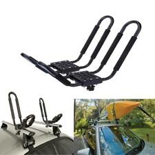 2 Pairs Universal Car SUV VAN Top J-Bar Mount Canoe Kayak  Rack Carrier
