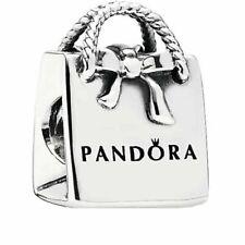PANDORA Shopping Bag charm Silver S925 ALE 791184