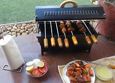 Portable BBQ   Grill Outdoor Camp Charcoal Picnic Oven-8 bbq rods(Barbeque)