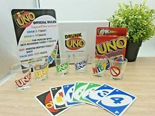 Drunk UNO Game Set  - 6 shot glasses