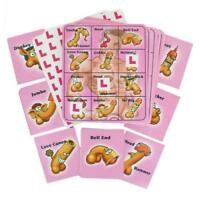 HEN PARTY WILLY BINGO GAME FOR 12 PLAYERS!