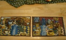 New listing Homemade/Handmade Set of 4 New Dinner Placemats 16 x 10-1/2 - Reversible,Cotton