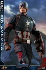 "Hot Toys 1/6th Scale MMS536 Avengers: Endgame Captain America 12"" Action Figures"