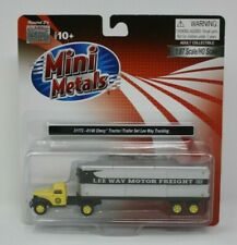 Classic Metal Works 31173 41/46 Chevy Tractor Trailer Lee Way Trucking HO 1:87