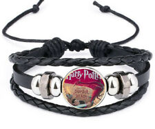 Charm Noosa Snap Glass Leather Bracelet Harry Potter and the Chamber of Secrets