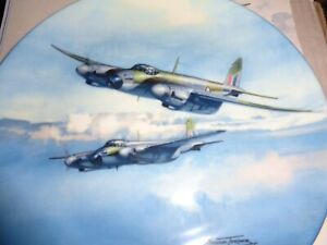 Coalport Collectors Plate OUT ON EXERCISE From REACH FOR THE SKY