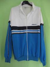 Veste Adidas Ventex France 80'S Ciel et blanche Vintage Jacket Sport - 186 / XL