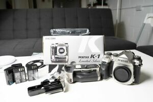 Pentax K-1 Silver Limited Edition with Battery Grip and Extras