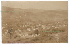 FRANKLIN New York - 1907 Photo POSTCARD Delaware County