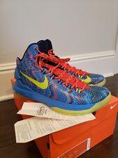 daa07b121574 Nike KD V Christmas Hyper Blue Atomic Green 5 s Size 11 2012  554988 401