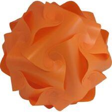 lampshade light shade iq kit Retro Puzzle ceiling Lantern Pendant 30cm Orange