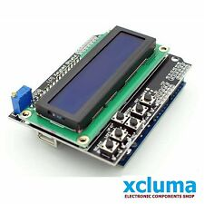 XCLUMA ARDUINO LCD KEYPAD SHIELD LCD1602 INPUT OUTPUT EXPANSION BOARD BE0117