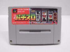 SNES -- GANSO PACHI SLOT NIHONICHI -- Super famicom. Japan game Work fully 14590