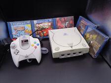 Sega Dreamcast Konsole mit Original Controller und 5 Spiele ( DC ) Tomb Raider 4