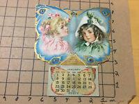 vintage origianal 1905 HOOD'S SARSAPARILLA CALENDAR complete  calendar