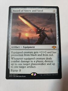 1x Sword of Sinew and Steel, Modern Horizons, Magic the Gathering MTG NM