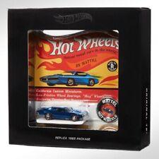 Hot Wheels Hwc Original 16 Replica Custom Barracuda Spectraflame Blue #2417/6000