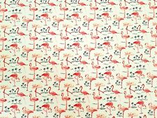 Flamingo's Design - Rose and Hubble craft cotton poplin fabric