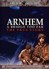 THE WAR COLLECTION - ARNHEM (A BRIDGE TOO FAR) THE TRUE STORY WORLD WAR 2 DVD