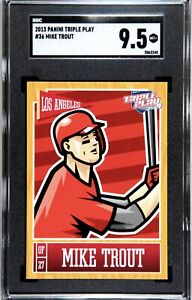 2013 Panini Triple Play #36 Mike Trout