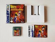 Dragonball Z Legendary Super Warriors - GBC - Nintendo Game Boy Color - CIB