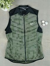 NIKE Womens Aeroloft Vest Sz Small Flash Reflective Athletic Running Walking New