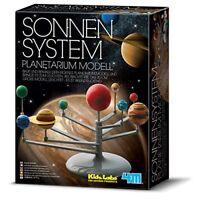 Sonnensystem Planetarium Modell von Kidz Labs 4M zum Selberbauen in 3D