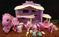 MY LITTLE PONY LOT OF PONIES, NURSERY HOUSE, PLUSH, & MORE