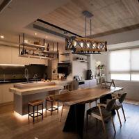 5-head Retro Chandelier Kitchen Restaurant Dining Pendant Lamp Industrial/home