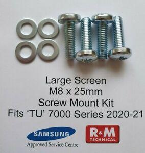 TU7020 TU7027 TU7007 Samsung 2020-21 model M8 Wall Mount Screws Kit