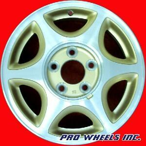 "OLDSMOBILE SILHOUETTE 1997 1998 1999 2000 15"" MACHINED GOLD WHEEL RIM 6028 B"