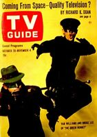 TV Guide 1966 The Green Hornet Van Williams Kato Bruce Lee #709 V14N44 VG/EX COA
