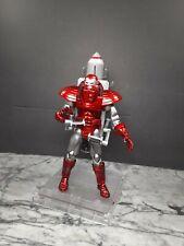 Toybiz marvel legends- Ironman Silver Centurion-100% Complete