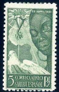 Sellos Sahara 1951 nº 87 Isabel la Catolica nuevos colonias españolas