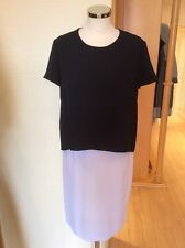 Betty Barclay Dress Size 12 Black and White Layered Now