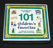101 Children's Favorites A Collection of Childrens Nursery Rhymes Songs 5 CDS!
