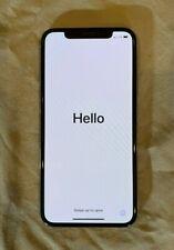 Apple iPhone X - 256GB - Silver (Verizon) A1865 (CDMA + GSM) EXCELLENT LOOK