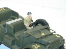 Dinky toys,soldat, 1 Conducteur métal peint pour Dodge command car militaire