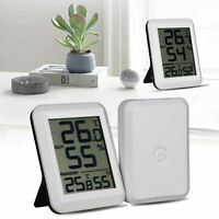 LCD Digital Temperature Humidity Thermometer Hygrometer Indoor Outdoor Gauge US